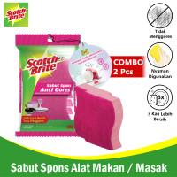 3M Scotch-Brite Sabut / Spons Sponge Dishwasher 2X-CMB-3M-ID-37