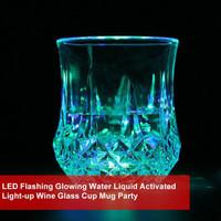 Gelas Wine dengan Lampu LED Menyala untuk Pesta