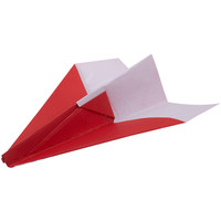 1 Set Electric Motor Paper Airplane Model Diy Power Up Kids Toys