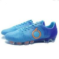 Sepatu Bola Ortuseight Catalyst Oracle FG Pale Cyan Vortex Blue