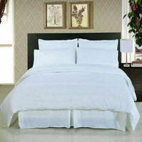ELEGANT BED COVER SET POLOS EMBOSS KING SIZE 180X200 DAN QUEEN SIZE 16