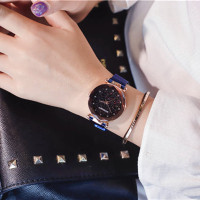✔Jam Tangan Wanita Korea GOGOEY Starry Sky Magnet Simple Anti Air