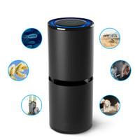 Car Air Purifier Ionizer Odor Freshener USB Ionic Cleaner