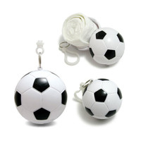 Waterproof Football Keychain Poncho pakai panjang Raincoat