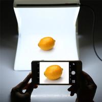 Kotak Studio Foto Mini dengan Lampu LED 3D untuk Latar WS