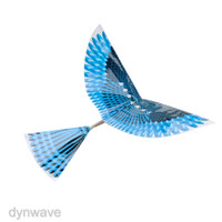 DIY Small Powered Flapping Wings Toys Flying Outdoor Kids Boys Toy