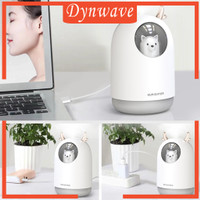 300ml Ultrasonic USB Humidifier Timing Diffuser Maker w/ Light for