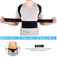 Korset Korektor Postur Punggung / Tulang Belakang Adjustable untuk