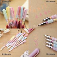 ❤❤ 2pc Cute Highlighter Pen Marker Stationary Point Pen Ballpen