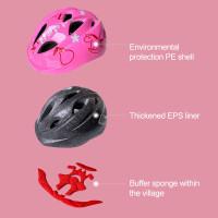 Helm Sepeda Ultra Ringan Untuk Anak Perempuan Usia 3-18 Tahun
