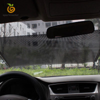 Tirai Pelindung Panas Anti Uv Dapat Dilipat Untuk Windshield Mobil