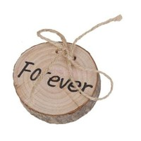 "Forever "" Wedding Wood Ring Box Wedding Decor ic Wooden"