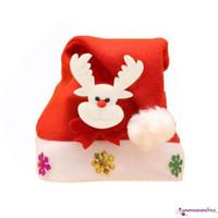 ✽ Up ✽ Topi Santa Claus untuk Kostum Natal Dewasa / Anak-Anak