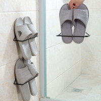Max Jiangqingg Wall Mounted Shoes Rack with Sticky Hanging Strips,
