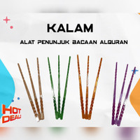 Alat Penunjuk Ngaji Kalam Tulisan Arab Alquran dapat 10pcs Muslim