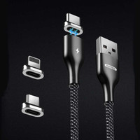 Kabel Charger Iphone Magnetic Lightning Fast Charging 3A Remax RC158i