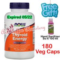 Thyroid Energy, Now Foods ( USA PRODUCT ) 180 Veg Capsules Diskon