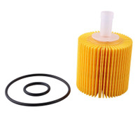 Durable Set For Toyo Venza OEM Oil Petrol Filter 04152-YZZA1 Kit SS