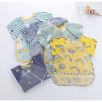 NEW Celemek Baju Anak | Bib Slabber Waterproof BEST SELLER