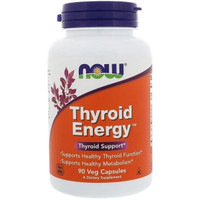 Now Foods Thyroid Energy Thyroid Support 90 Capsules