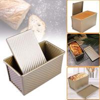 Masak Loyang Kue Bahan Aluminum Alloy Warna Hitam dan Gold untuk