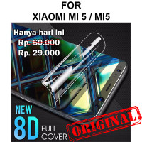 Xiaomi Mi5 anti gores hp full cover layar not tempered glass HYDROGEL