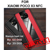 Case Xiaomi Poco X3 NFC softcase casing back cover leather tpu PORSCHE