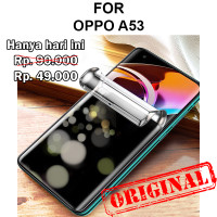 Oppo A53 anti gores hp full layar not tempered glass HYDROGEL ANTI SPY