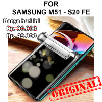 Hydrogel Anti Spy Samsung M51 - S20 FE anti gores not tempered glass - S20 FE
