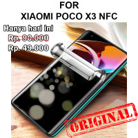 Xiaomi Poco X3 anti gores hp full not tempered glass HYDROGEL ANTI SPY