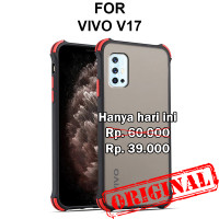 Case Vivo V17 hardcase casing hp back cover mika fuze matte tpu SHIELD