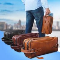 Classy Pouch Bag Genuine Leather Kulit Sapi Asli untuk Pria / Wanita