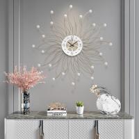 Jam Dinding Desain Nordic Atmospheric Untuk Dekorasi Ruang Tamu