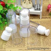 Botol Pompa Airless Mini Kosong Ukuran 15/30Ml untuk Kosmetik Ukuran