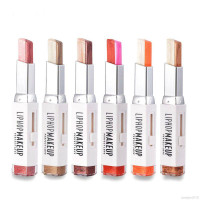liphop Two-tone Eyeshadow Stick Waterproof Smudge-Proof Long-Lasting
