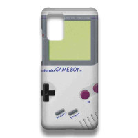 Hard Case Casing Game Boy White For Samsung Galaxy M51