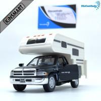 Diecast Mobil Kinsmart Dodge Ram Truck Camper Hitam Murah Ma SCKC49