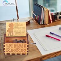 Kotak Musik Bahan Kayu Untuk Dekorasi Pesta Ulang Tahun Dan Ruang L187