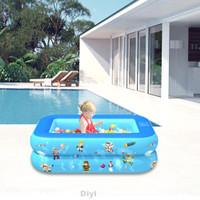 Kolam Renang Tiup Portable Bahan Tebal Untuk Bayi/Anak/Dewasa