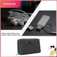 Digital storage bag mouse data cable power arger arging treasure