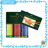 Polychromos of Tin 60 Castell Warna Pensil Pencils Color Faber