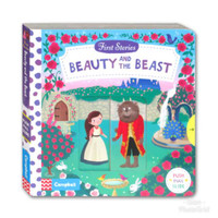 Buku Campbell First Story - Beauty and the Beast