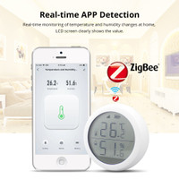 WONDERFULL Alarm Sensor Suhu Dan Kelembaban Dengan Layar Lcd Dan