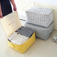 Sederhana Folding Pakaian Organizer Durable Storage Bag