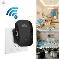 Repeater Penguat Jangkauan Sinyal Wifi Nirkabel 300mbps Untuk Rumah