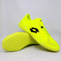 Sepatu Futsal Lotto Squadra IN Safety Yellow