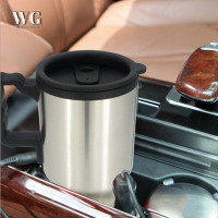 WPGY ♦ 450ml Car Kettle Electric Water Kettle Portable Stainless
