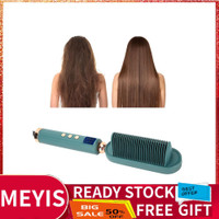 Meyis Electric Hair Comb Brush Ionic Straightener Hairstyling Tool