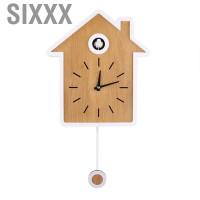 Jam Alarm Gantung Dinding Gaya Nordic Modern Untuk Dekorasi Rumah