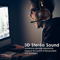 Nubwo N11D Headset Gaming Deep Bass 7-1 Virtual Surround Dengan